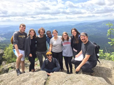 MEG Students explore Ecosystem Management in the field