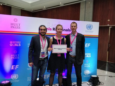MEG-students win the Hult-Prize Regionals in Tunisia